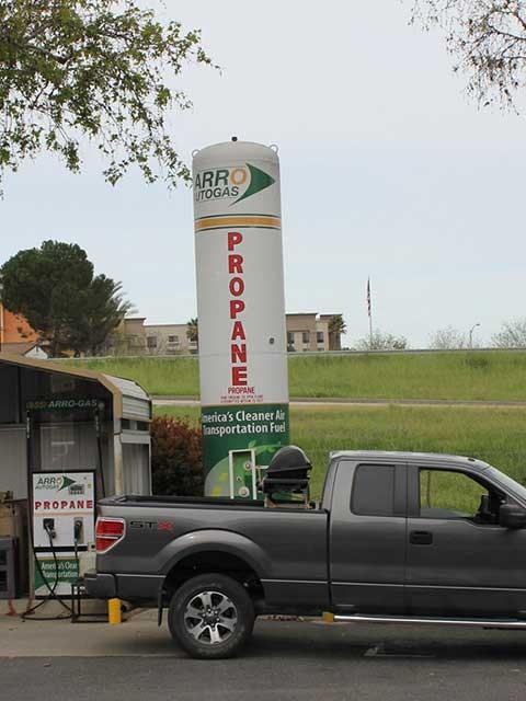 Image of the Paso Robles Delta Rv ARRO Autogas site.