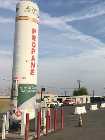 Image of the Bakersfield Delta Liquid Energy ARRO Autogas site.