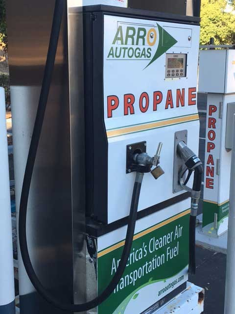 Image of the Madonna Road Shell Station ARRO Autogas site.