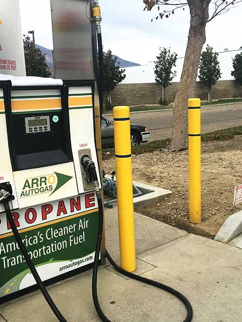 Image of the Santa Paula Delta Liquid Energy ARRO Autogas site.