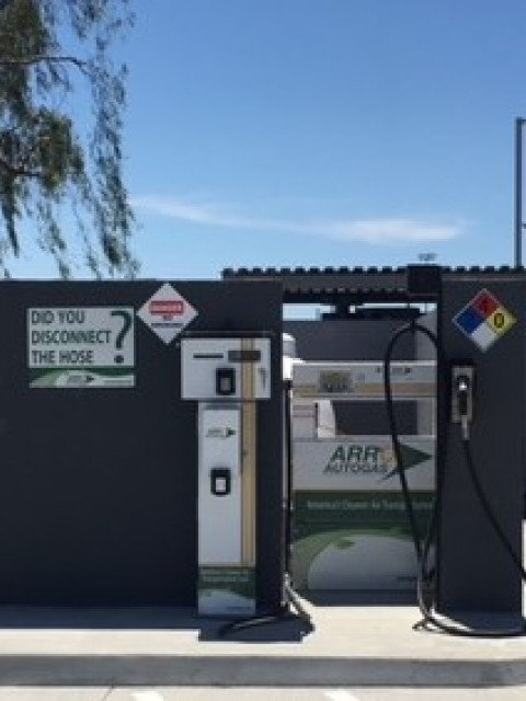 Image of the Colton Pepper Express ARRO Autogas site.