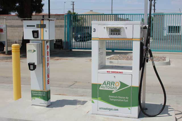 Image of the City of Santa Ana ARRO Autogas site.